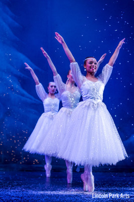 """Lincoln Park stage photo from the 2015 """"Nutcracker"""" performance. Photos taken by Christian Rothbauer and Andrew Wiesner, Mass Marketing students at Lincoln Park Performing Arts Charter School."""