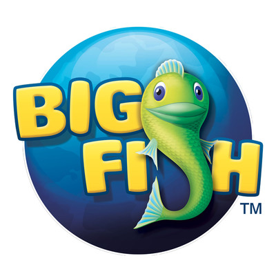 Big Fish logo.  (PRNewsFoto/Big Fish)