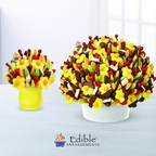 Each piece in the Edible Grand Collection is made with more than 450 pieces of fruit, making them the largest fresh-cut fruit arrangements created by Edible Arrangements.