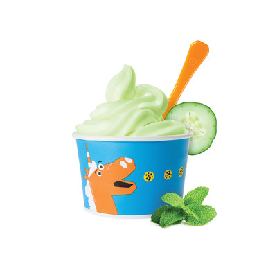 Orange Leaf Frozen Yogurt introduces Spa Day Sorbet, a refreshing mix of cucumber, lemon and mint. One of two new and unusual Discovery froyo flavors available this summer.