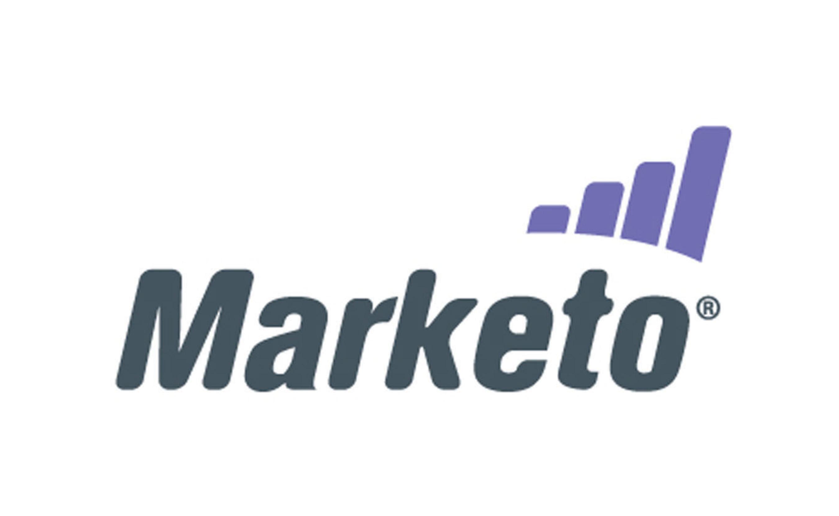 Marketo logo.