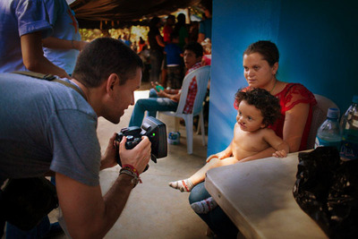 The VECTRA H1 handheld 3D camera helps the doctors and staff of Operation Smile improve the lives of children around the world.  (PRNewsFoto/Canfield Scientific, Inc.)