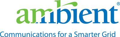 Ambient Corporation logo.  (PRNewsFoto/AMBIENT CORPORATION)