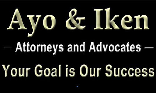 The Florida Law Firm of Ayo and Iken PLC. (PRNewsFoto/Ayo and Iken PLC) (PRNewsFoto/AYO AND IKEN PLC)