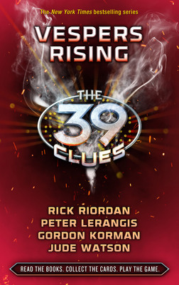 "Part Two of The 39 Clues Bestselling Multi-media Adventure Franchise Launches with ""Vespers Rising"" By Rick Riordan, Peter Lerangis, Gordon Korman, and Jude Watson, on April 5, 2011.  (PRNewsFoto/Scholastic)"