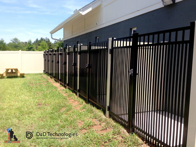Photo of Camp K9's canine kennels from exterior.