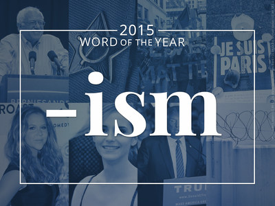 Merriam-Webster's 2015 Word of the Year
