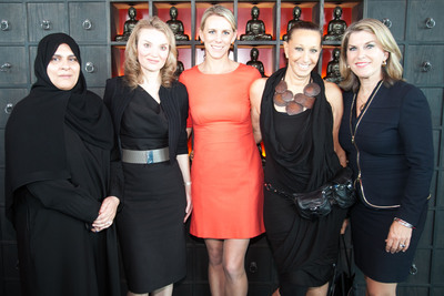 JW Marriott Hotels & Resorts Debuts Campaign to Empower Women of the World - Luxury Hotel Brand Partners with Vital Voices at JW Marriott Marquis Dubai Celebration.  (PRNewsFoto/JW Marriott Hotels & Resorts)