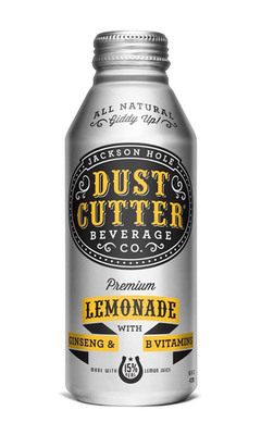 Newcomer Dust Cutter Beverage Company has launched its brand new line of all-natural lemonades in Ball Corporation's(TM) 16-oz. Alumi-Tek(R) bottles.  (PRNewsFoto/Ball Corporation)