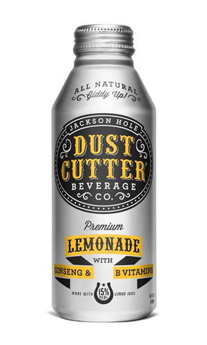 Old West Meets State of the Art: New 'Dust Cutter' Lemonade in Ball's Alumi-Tek® Bottle