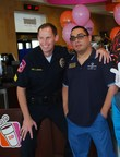 Police officers will join Special Olympics  athletes at Dallas  - Fort Worth area Dunkin' Donuts locations on Sat. Sept.19 from 6:00 a.m. - 11:30- a.m., to raise funds for Special Olympics.