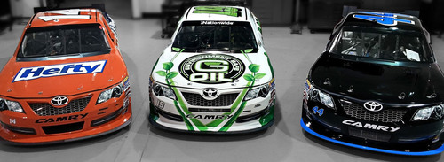 NASCAR Nationwide Series entries #14 Eric McClure, #19 Tayler Malsam and #44 Mike Bliss will all use G-Oil in ...