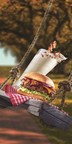 This fall, the south is in the house at Red Robin Gourmet Burgers, Inc. (Red Robin) with a new milkshake and burger sure to satisfy a guest's sweet (and savory) tooth! Beginning now through Nov. 2, guests 21-and-over can enjoy the new Beam-N-Bacon Boozy Shake made with Jim Beam(R) Maple Bourbon, caramel and vanilla soft serve blended to perfection and topped with bacon bits and a strip of candied bacon. This one-of-a-kind shake pairs perfectly with the Southern Charm Burger(TM), the newest addition to Red Robin's Finest(TM) premium burger line served with a side of Southern hospitality. (PRNewsFoto/Red Robin Gourmet Burgers, Inc.)