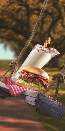 This fall, the south is in the house at Red Robin Gourmet Burgers, Inc. (Red Robin) with a new milkshake and burger sure to satisfy a guest's sweet (and savory) tooth! Beginning now through Nov. 2, guests 21-and-over can enjoy the new Beam-N-Bacon Boozy Shake made with Jim Beam(R) Maple Bourbon, caramel and vanilla soft serve blended to perfection and topped with bacon bits and a strip of candied bacon. This one-of-a-kind shake pairs perfectly with the Southern Charm Burger(TM), the newest addition to Red Robin's Finest(TM) premium ...