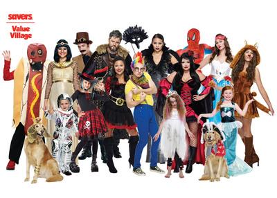 Destination: Halloween at Savers.  (PRNewsFoto/Savers, Inc.)
