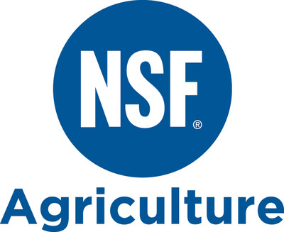 NSF Agriculture Logo.  (PRNewsFoto/Greener Fields Together)