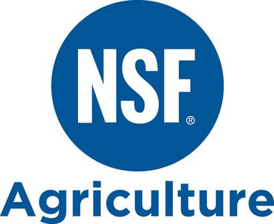 NSF Agriculture Logo.  (PRNewsFoto/Greener Fields Together)