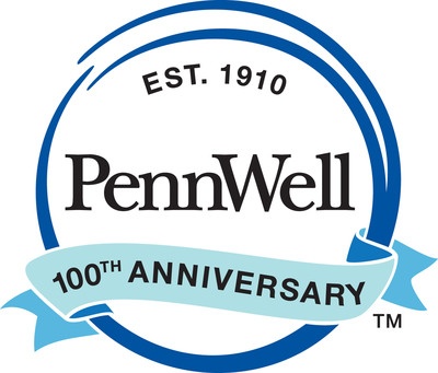 PennWell Centennial logo. (PRNewsFoto/PennWell Corporation)