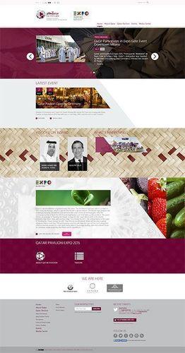 Qatar Pavilion Committee - Expo 2015 Launches Qatar Pavilion Website (PRNewsFoto/Qatar Pavilion)