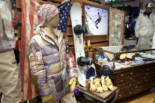 Burton Olympic Uniform NYC Launch Event.  (PRNewsFoto/Burton Snowboards)