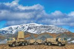 Mounted on a five-ton truck, the AN/TPQ-53 radar can be rapidly deployed, automatically leveled and remotely operated with a laptop computer or from the fully equipped climate-controlled command vehicle. Photo courtesy Lockheed Martin.