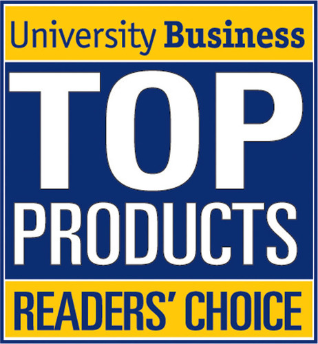 """Omnilert, the leader in critical mass communications, today announced their entire e2Campus product suite has been selected as a University Business magazine """"Readers' Choice Top Product"""" for 2013. The annual award recognizes the most innovative products in higher education. """"Thank you to the readers of University Business magazine for your nominations,"""" says Omnilert CEO Ara Bagdasarian. """"We are delighted that so many of our customers share our passion for improving critical communications. You've told us you want critical mass communications to be easy, reliable, and supported by great customer service, and your vote validates our work."""" (PRNewsFoto/Omnilert, LLC) (PRNewsFoto/OMNILERT, LLC)"""
