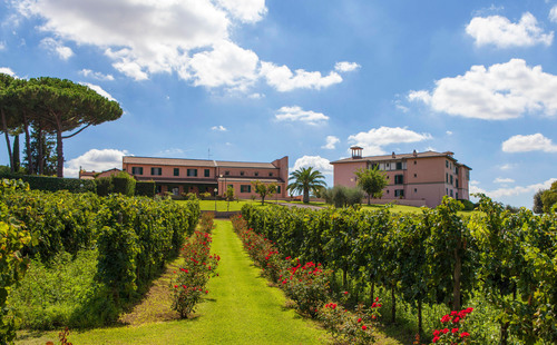Located just kilometers from the pope's summer home in Castel Gandolfo, the Eugene Constantin Campus is ...