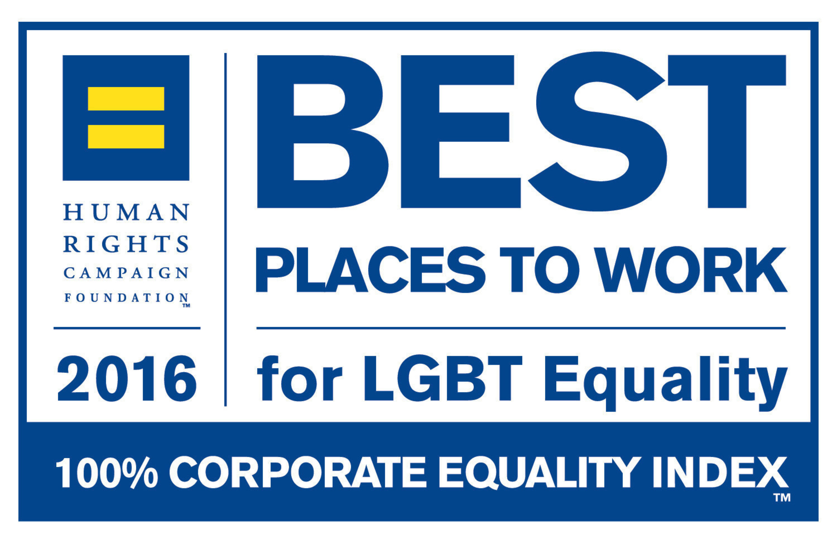 """""""Best Places to Work for LGBT Equality"""""""