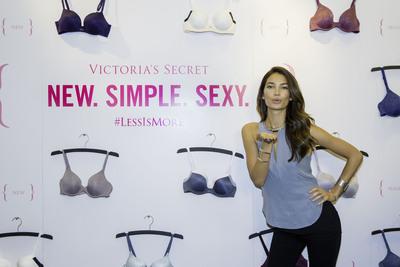 Victoria's Secret Supermodel Lily Aldridge Celebrates The Reveal Of The 2014 What Is Sexy? List. (PRNewsFoto/Victoria's Secret)