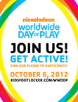 Kids Foot Locker Celebrates Nickelodeon's Worldwide Day Of Play