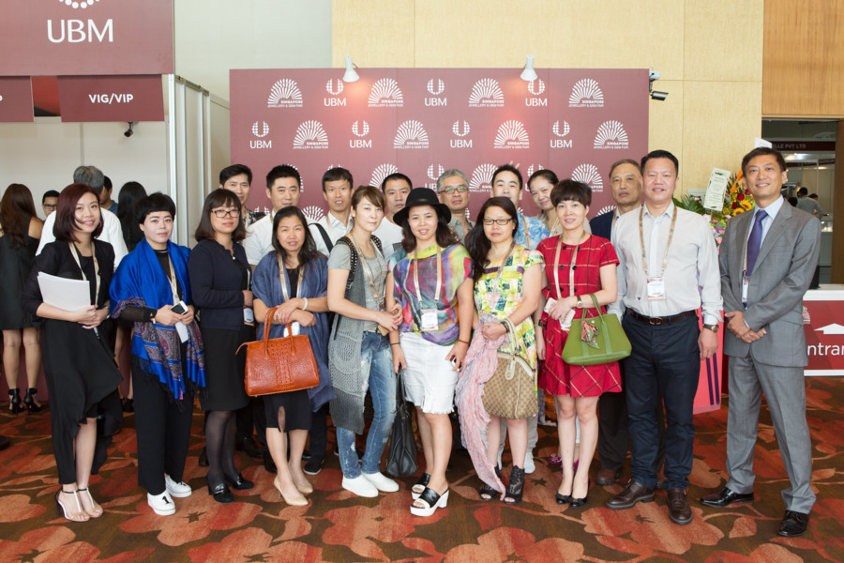 Welcomed notable trade buyers from Australia, China, Indonesia, Malaysia, Singapore and the world over.
