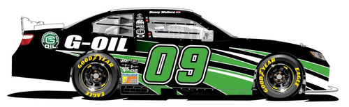 G-OIL(R) TO MAKE NASCAR DEBUT WITH KENNY WALLACE AT DOVER INTERNATIONAL SPEEDWAY.  (PRNewsFoto/Green Earth ...