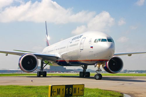 Aeroflot adds long-haul capacity with new 777-300ER (PRNewsFoto/Aeroflot)