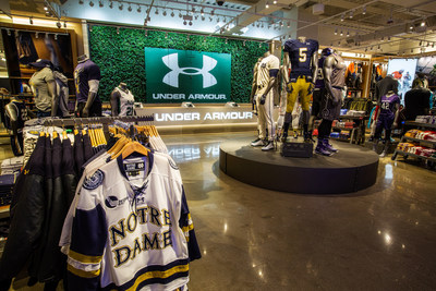 "UNDER ARMOUR OPENS CHICAGO'S FIRST ""BRAND HOUSE"" SPECIALTY RETAIL STORE"