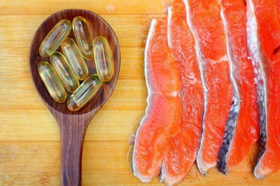 Fish oil and fatty fish like salmon are high in EPA and DHA omega-3s and are important for pregnant and nursing mothers to consume to support their own health and the health of their growing babies