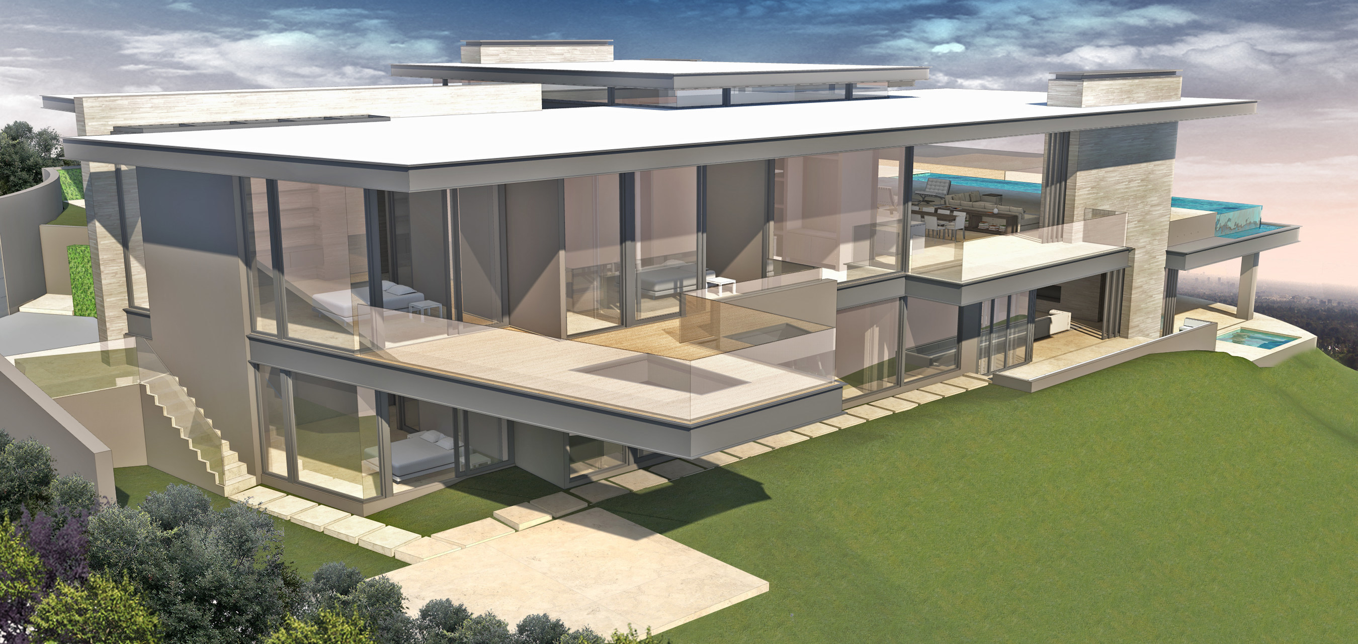 Paul McClean Designed Trousdale Estate Underway