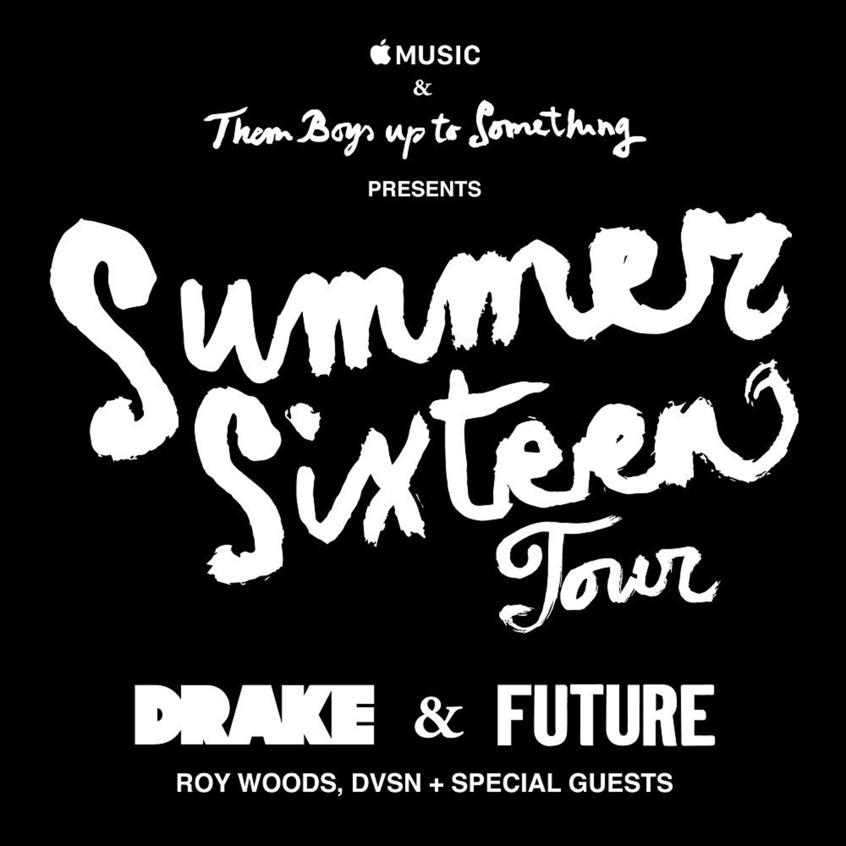 DRAKE TO LAUNCH SUMMER SIXTEEN TOUR WITH FUTURE AND SPECIAL GUESTS