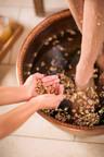 The Nagomi Ritual, one of the new Nobu-Inspired Spa Treatments by Qua Baths & Spa Caesars Palace Las Vegas.  (PRNewsFoto/Nobu Hotel Caesars Palace)