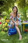 Kipling Summer 2015 Campaign featuring Gina Rodriguez.
