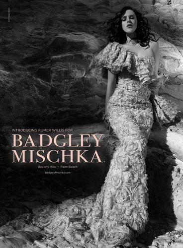 Badgley Mischka Debuts Spring Marketing Campaign Featuring Rumer Willis