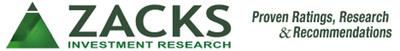 Zacks Investment Research, Inc., www.zacks.com. (PRNewsFoto/Zacks Investment Research) (PRNewsFoto/ZACKS INVESTMENT RESEARCH)