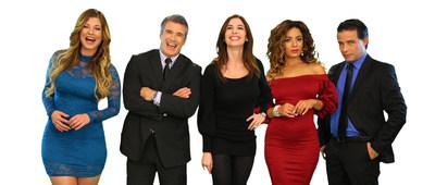 (de izquierda a derecha - left to right) -  Lisandra de la Cruz, Ernesto Faxas, Nadia Rowinsky, Yordamis Megret, Yoandi Castaneda