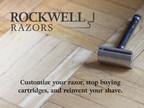 ROCKWELL RAZORS www.rockwellrazors.com (PRNewsFoto/Rockwell Razors)