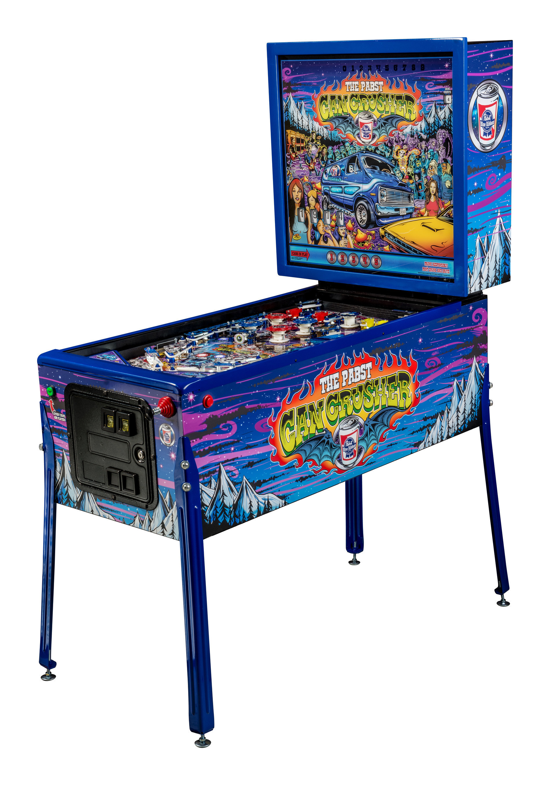 Stern Pinball, Leading Pinball Manufacturer, Introduces PBR-Themed Machine to Lineup