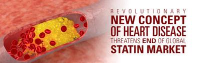 Revolutionary new concept of heart disease threatens end of global statin market