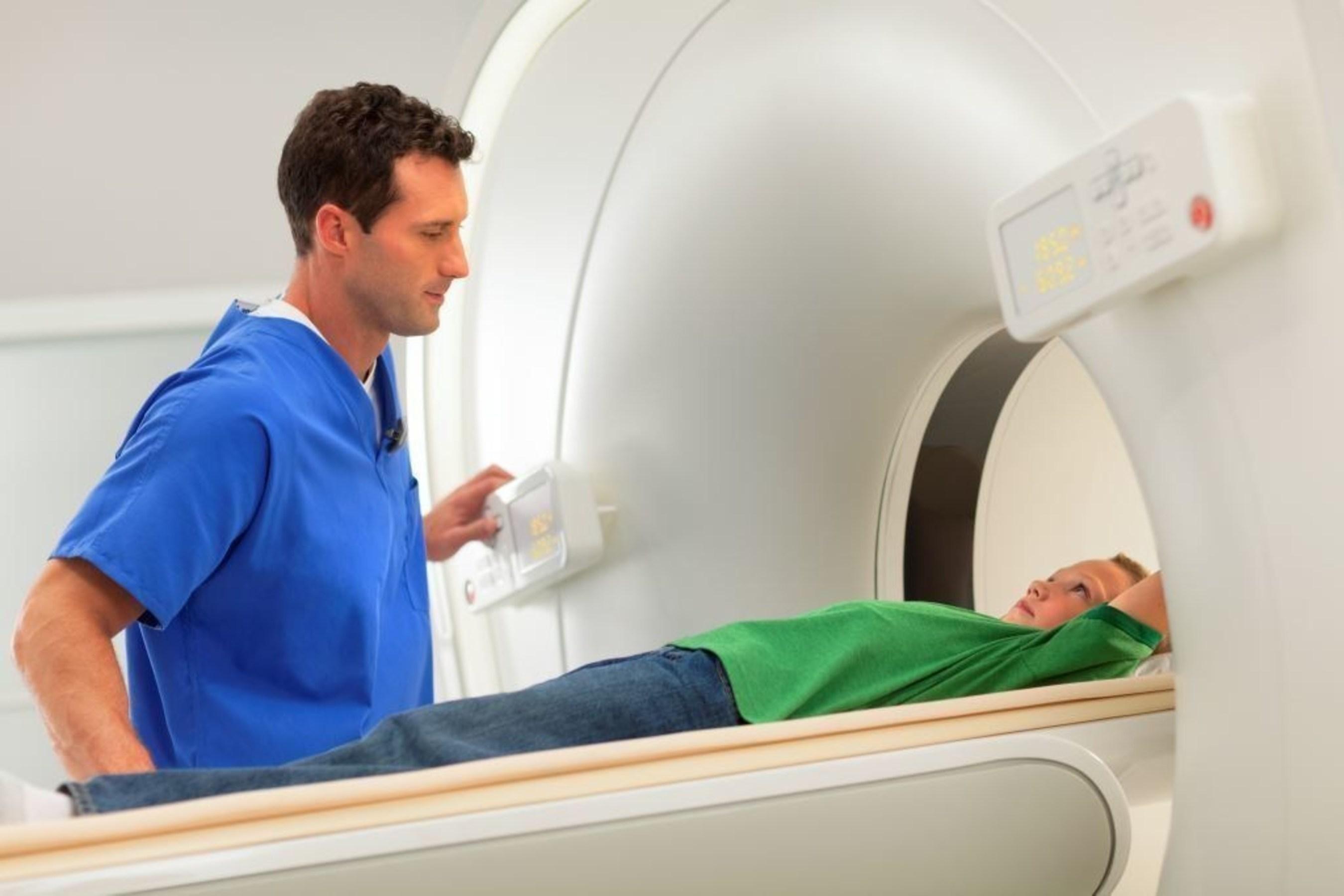 Pediatric scan on Vereos digital PET/CT.
