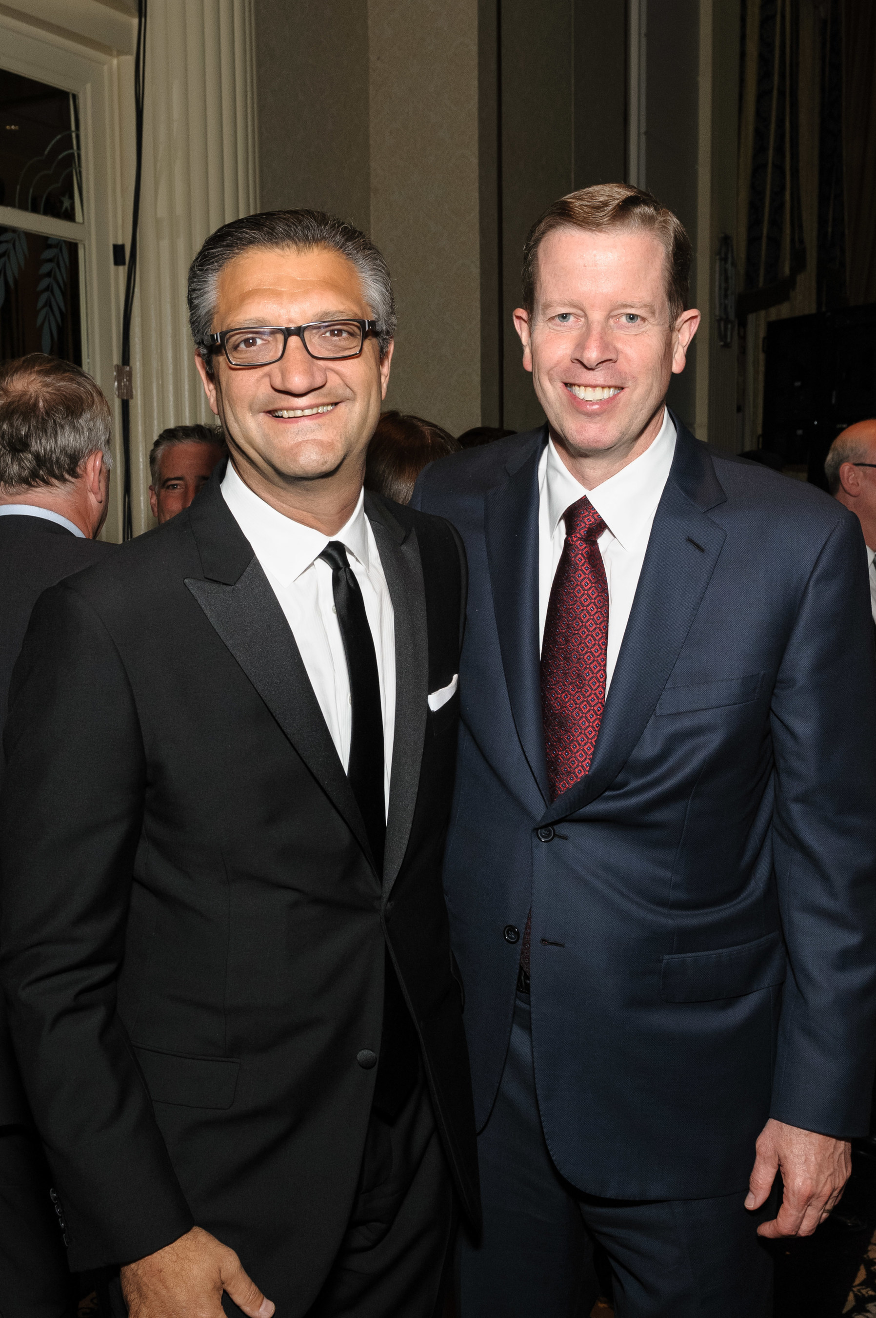 """Ronald McDonald House New York 23rd Annual Gala Honorees Emanuel """"Manny"""" Chirico and Keith S. Sherin."""