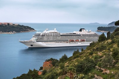 The recently christened Viking Star, Viking Ocean Cruises' first ship, sailing through Dubrovnik. The company has not only added sailing dates to existing itineraries, but has also created four new enrichment-filled programs that will take guests from the sun-soaked region of the Mediterranean to the cultural capital of St. Petersburg - all of which are now open for booking.