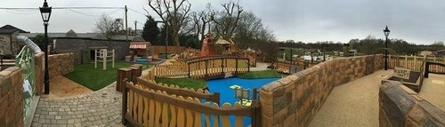 Panorama Of The Peter Rabbit Adventure Park (PRNewsFoto/Lappset Group oy)
