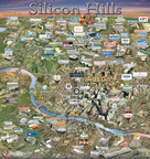 SILICON MAPS, INC. AUSTIN    Silicon Hills Map Featuring Austin's High Tech Growing Community.  (PRNewsFoto/Silicon Maps, Inc.)  SAN RAMON, CA UNITED STATES